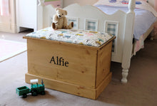 Load image into Gallery viewer, Sewrey Farm Personalised Toy Box