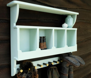 Pigeon Hole Country Boot/Coat Hooks in your chosen colourway