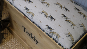 Personalised Hound Blanket Box