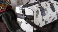 Load image into Gallery viewer, Leather Stag Weekend Bag