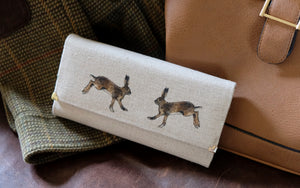 Hare Leather Handmade Purse