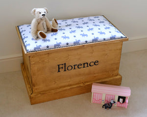 Small But Mighty Personalised Toy Box