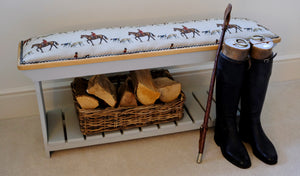 Master of Hounds Boot Rack Bench