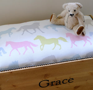 Stampede Personalised Toy Box