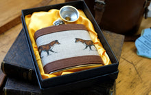 Load image into Gallery viewer, Fox Hip Flask.