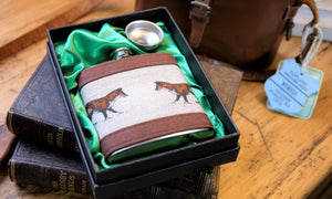 Fox Hip Flask.