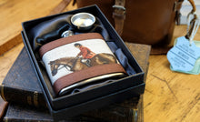 Load image into Gallery viewer, Master of Hounds Hip Flask