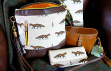 Load image into Gallery viewer, Fox Leather Handmade Purse
