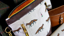 Load image into Gallery viewer, Fox Faux Leather Handbag