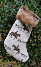 Load image into Gallery viewer, Master of Hounds Christmas Stocking.