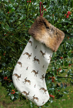 Load image into Gallery viewer, Hare Christmas Stocking