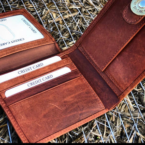 Leather Hunting Wallet