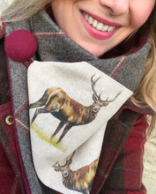 Load image into Gallery viewer, Stag Neck Warmer Scarf