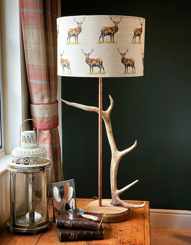 Large Antler Table Lamp