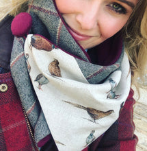 Load image into Gallery viewer, Gamebird Neck Warmer Scarf