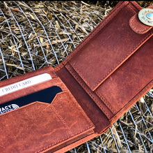 Load image into Gallery viewer, Leather Hunting Wallet