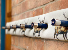 Load image into Gallery viewer, Royal Red Stag Cartridge Coat Rack