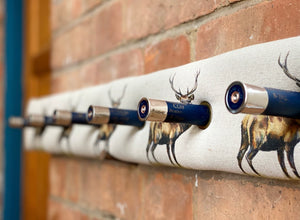 Royal Red Stag Cartridge Coat Rack
