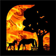 Load image into Gallery viewer, Mare & Foal Log Burner