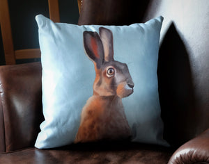 Soft Blue Cushion