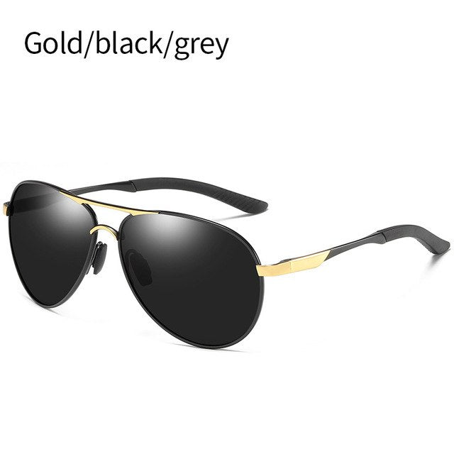 f5af3a44e7 ... SIMPRECT 2019 Retro Pilot Polarized Sunglasses Men Metal Driving Mirror Sun  Glasses UV400 High Quality Fashion