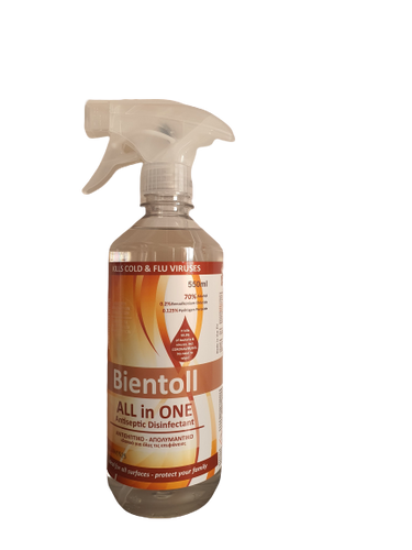 Bientoll All in One Antiseptic Disinfectant for Surfaces -  Classic 550ml
