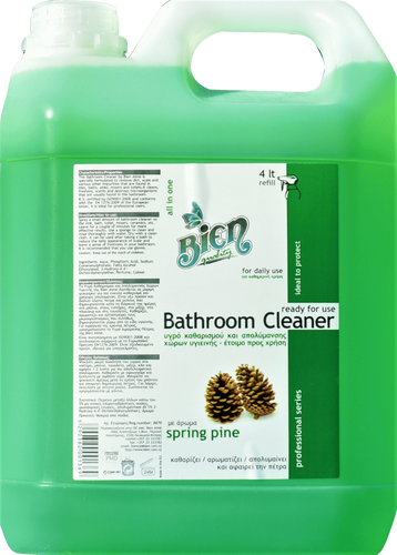 Bathroom Cleaner | Spring Pine 4L