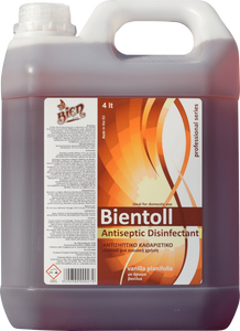 Bientoll Antiseptic Concentrated Disinfectant | Vanilla Planifolia 4L