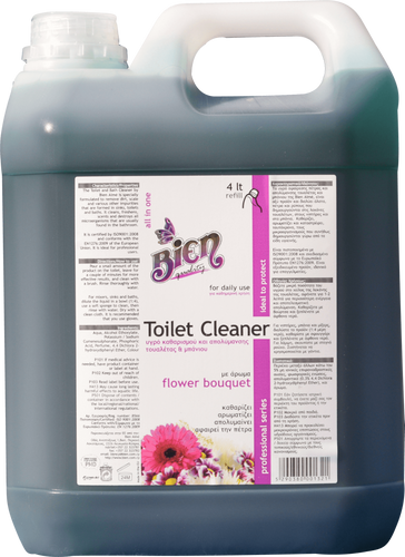 Toilet Cleaner | Flower Bouquet 4L