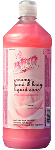 Creamy Hand & Body Liquid Soap | Rose 1.1L