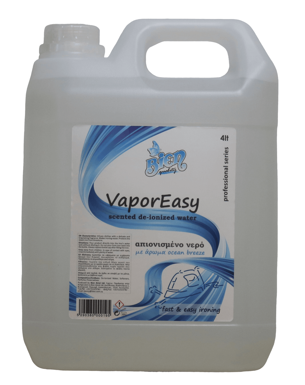 Scented VaporEasy | Ocean breeze 4L