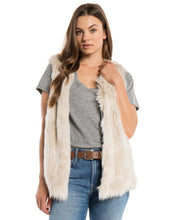 Load image into Gallery viewer, Dylan Melange Fur Vest