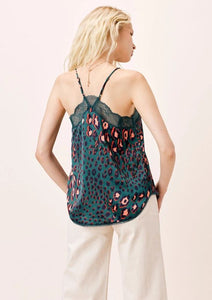 Lovestitch Lace Trim Cami with Racer Back