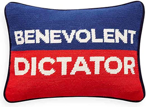 Jonathan Adler Benevolent Dictator Pillow