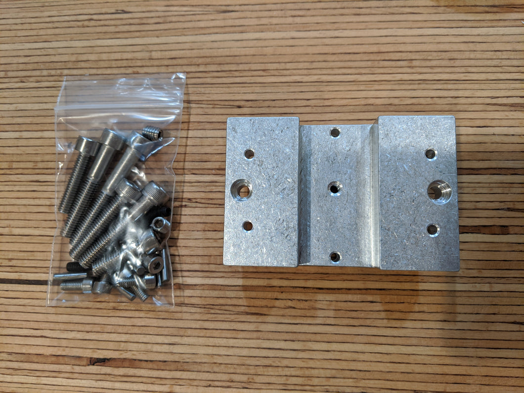vise adaptor and hardware packet