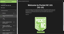 Load image into Gallery viewer, Pocket NC 101 Course
