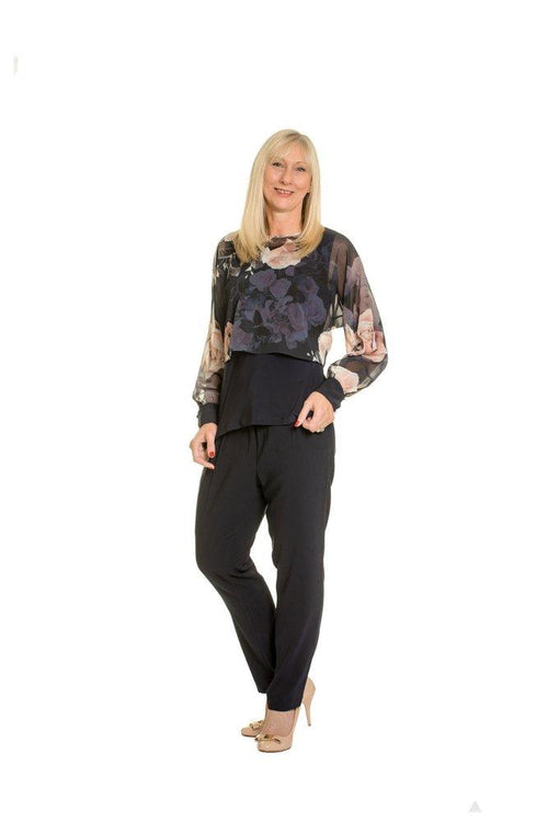Lizabella Evening Top - 4140