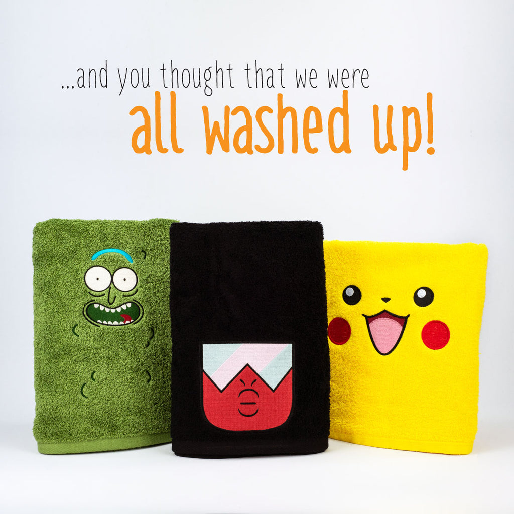 New Releases - Day 5: Bath Towels!