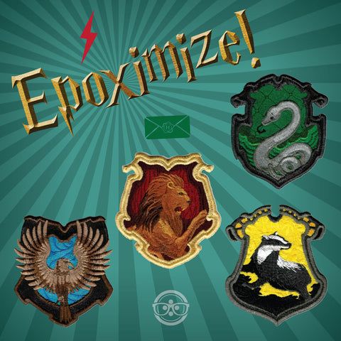 And the Hogwarts patches too!