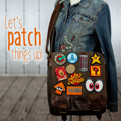 New geeky patches