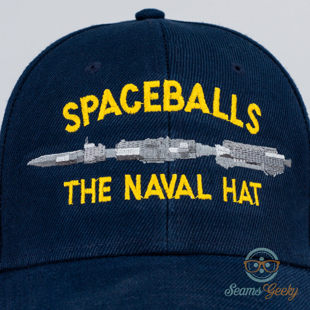 Spaceballs Hat - Spaceball One - Embroidered Sci-Fi Baseball Cap - Naval  Hat Inspired