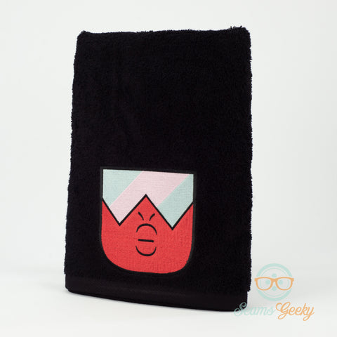 Steven Universe Bath Towel - Garnet - Embroidered Towel Decor