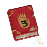 Gravity Falls Patch - Journal 3 - Embroidered Iron on Patch