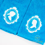 Breath of the Wild Hand Towel Set - His and Her - Link and Zelda - Embroidered Towels