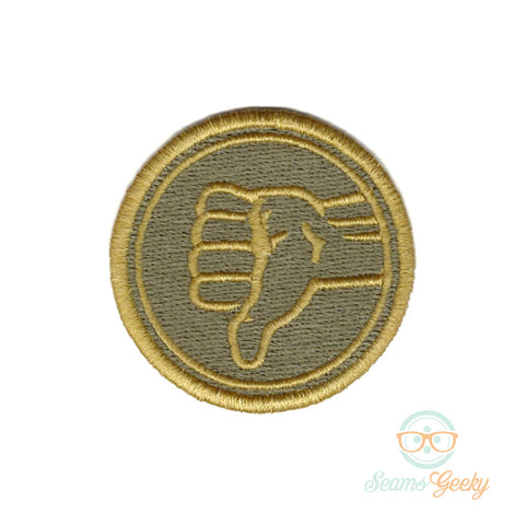 The Good Place Patch - Bad Place Senior Staff Badge - Embroidered Iron on Patch