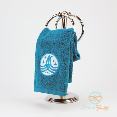 The Orville Hand Towel - Command Badge - Embroidered Bathroom Towel & Kitchen Decor