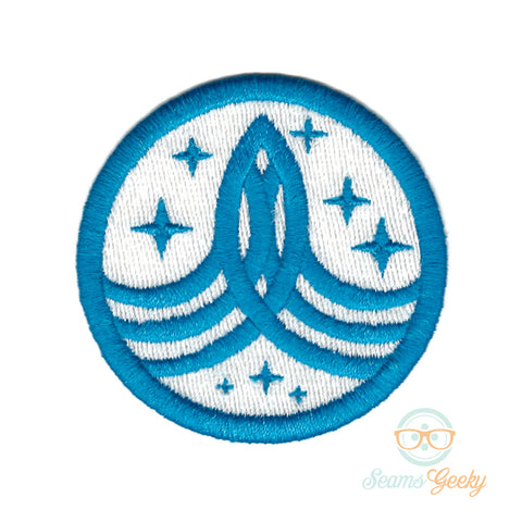 The Orville Patch - Command Badge - Embroidered Iron on Patch