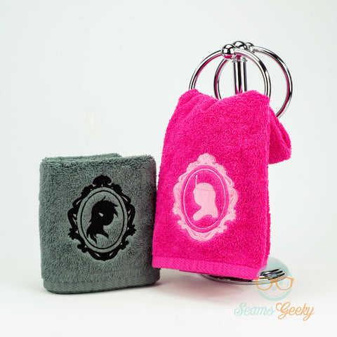 Adventure Time Hand Towel Set - Her and Her - Marceline and Princess Bubblegum