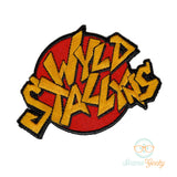 Bill & Ted Patch - Wyld Stallyns - Embroidered Iron on Patch