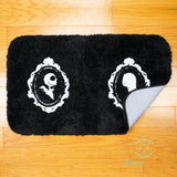 Nightmare Before Christmas Bath Mat or Rug - Jack Skellington & Sally